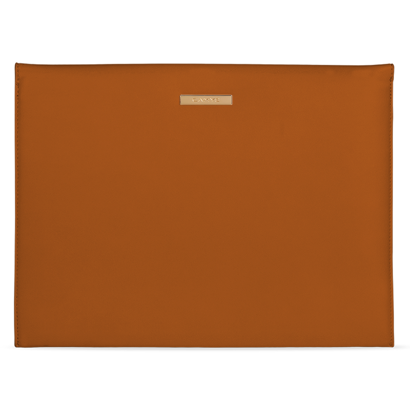 Laptophülle whiskey brown