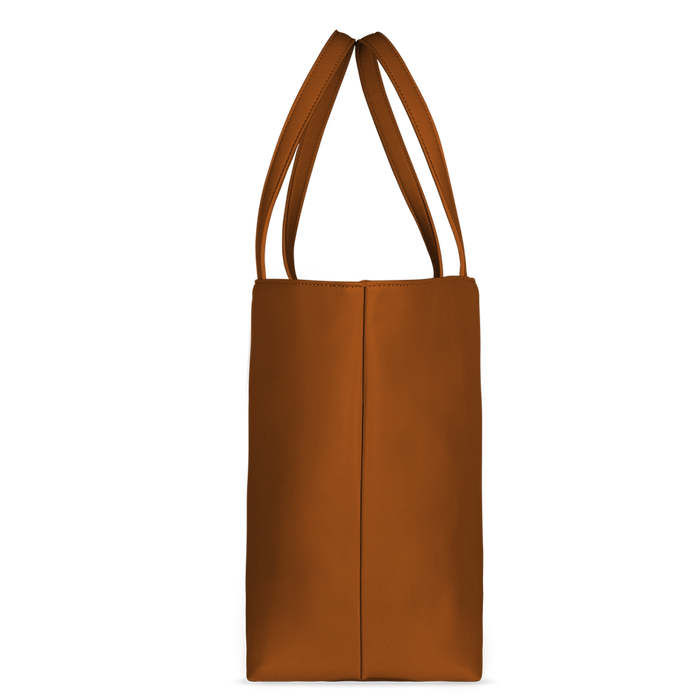 Shopper whiskey brown