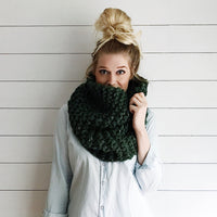 Knit Cowl Infinity Scarf Knitted Chunky Wrap Warmer Loop Snood