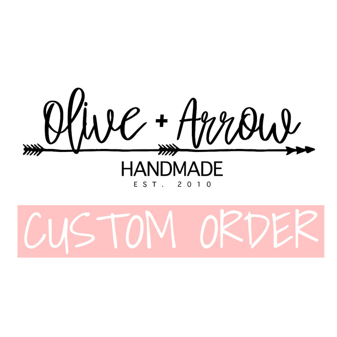 Custom Order for Laura Claps