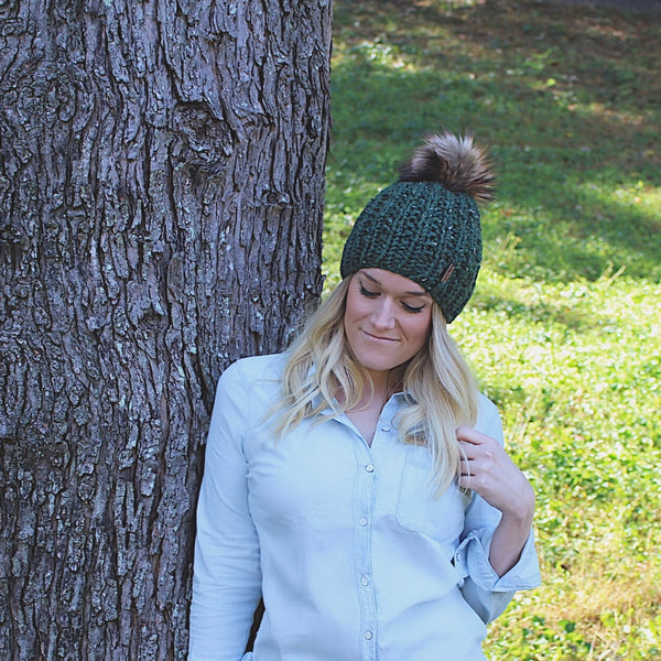 Knitting Pattern Adult Knit Hat Ribbed Beanie The Rockland
