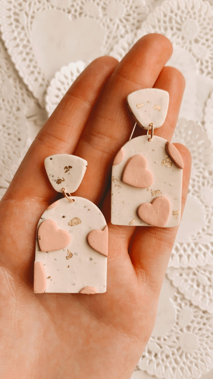Heart Shimmer Earrings