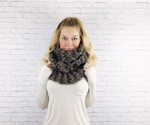 Outlander Scarf Infinity Scarf Knitted Cowl Wrap Warmer Loop Snood // Claires Cowl