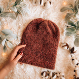 Tawny Beanie- Adult Double Layer Reversible Knit Beanie