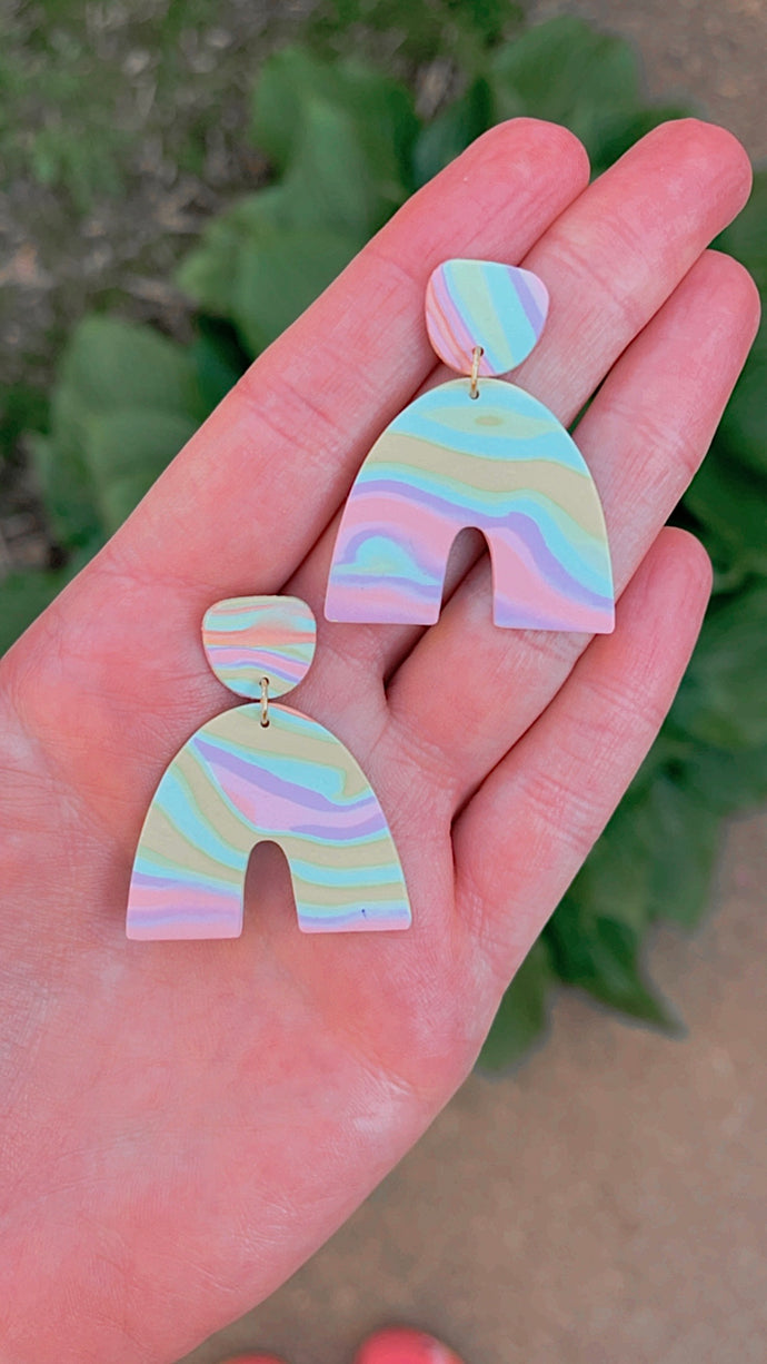 Groovy Pastel Arches // Spring Collection