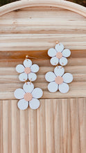 Double Daisy Dangles // Spring Collection