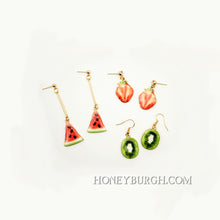 Summer Fruit Earrings Mini Watermelon
