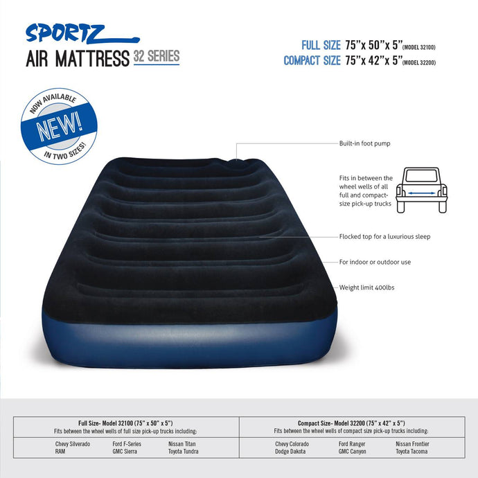 SPORTZ AIR MATTRESS, Truck Tents, Napier - Best Tents Store