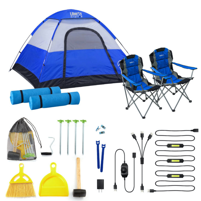 Camping Bundle, Camping Set, 7'x7'