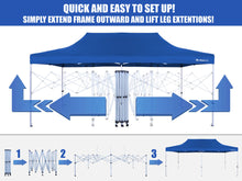 Load image into Gallery viewer, Party Tent Canopy 10′x20′ | 4 seasons | 4 colours | GigaTent | GT-004, Party Tents, Gigatent - Best Tents Store