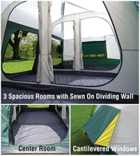 Load image into Gallery viewer, Carter Mountain Family Cabin Tent 20'x10' GigaTent FT-052, Camping Tents, Gigatent - Best Tents Store