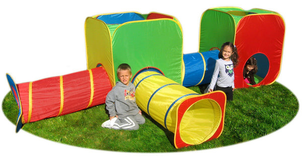 Mega Cubes & Tubes Child's Play Tents | GigaTent, Play Tents, Gigatent - Best Tents Store