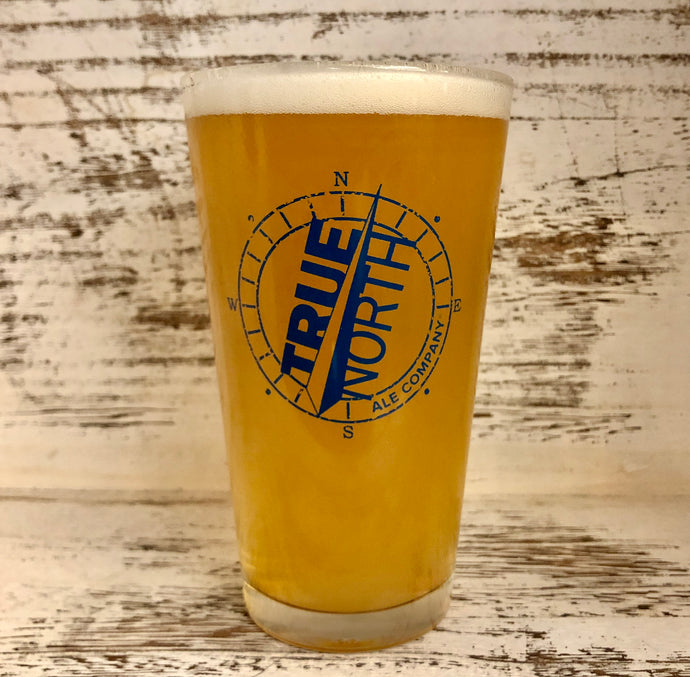 16oz Shaker Pint Logo Glass - available at our Taproom