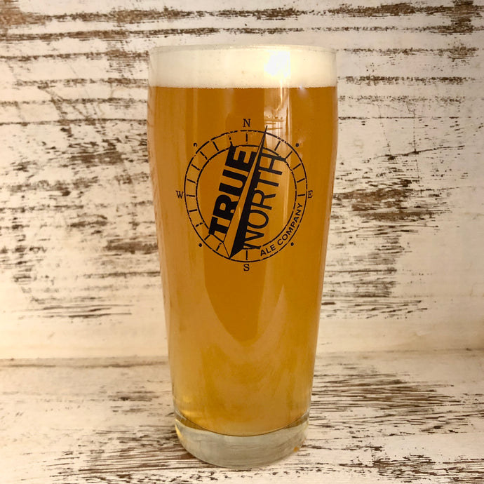 20oz Willi Becher Logo Glass - available at our Taproom
