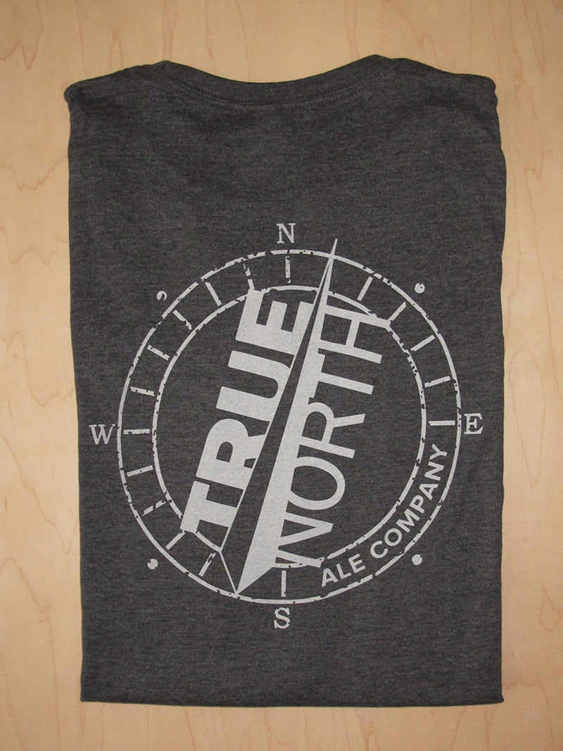 Charcoal Grey Long Sleeve Tee