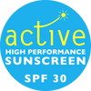 Active High Performance Sunscreen