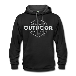 Alabama Outdoor Adventurer Contrast Hoodie - black/asphalt