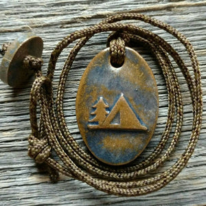 Outdoor Adventure Camping Necklace