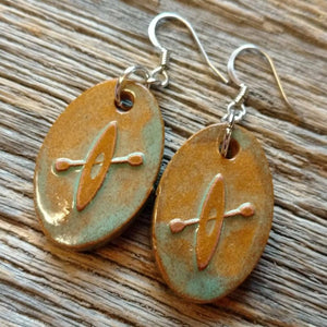 Outdoor Adventure Kayak Earrings