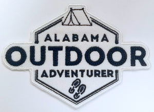 Alabama Outdoor Adventurer Patch