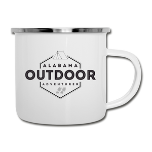Alabama Outdoor Adventurer Camper's Mug - white