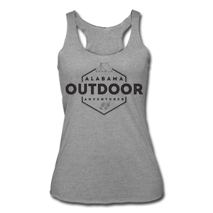Alabama Outdor Adventurer Women's Tri-Blend Racerback Tank - heather gray