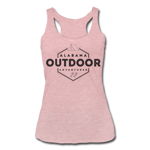 Alabama Outdor Adventurer Women's Tri-Blend Racerback Tank - heather dusty rose