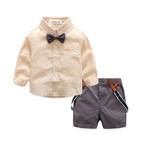 Boys Formal Shorts & Shirt