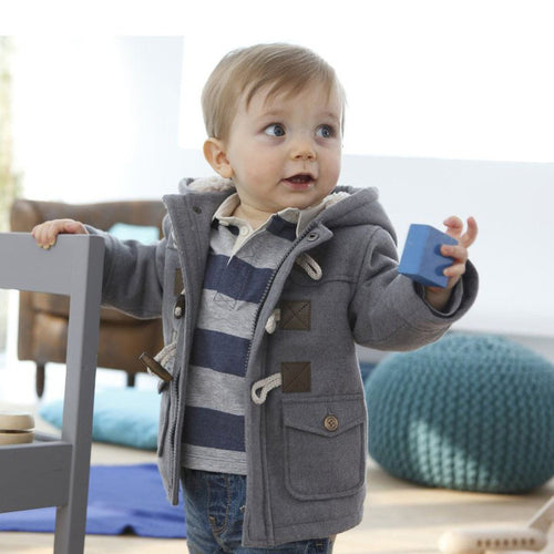 Boys Hooded Winter Jacket
