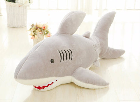 ... Shark Plush Toy Stuffed Pillow for Children - 70cm ...