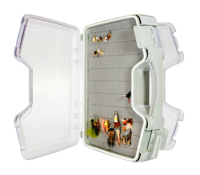 "Huge ""The Flybrary"" Water-Resistant Saltwater Salmon Fly Box"