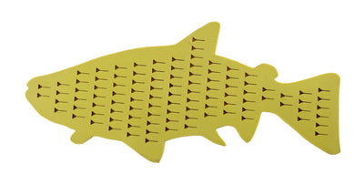 "Kingfisher Silicon ""Trout-Shaped"" Drift Boat Fly Patch #1324"