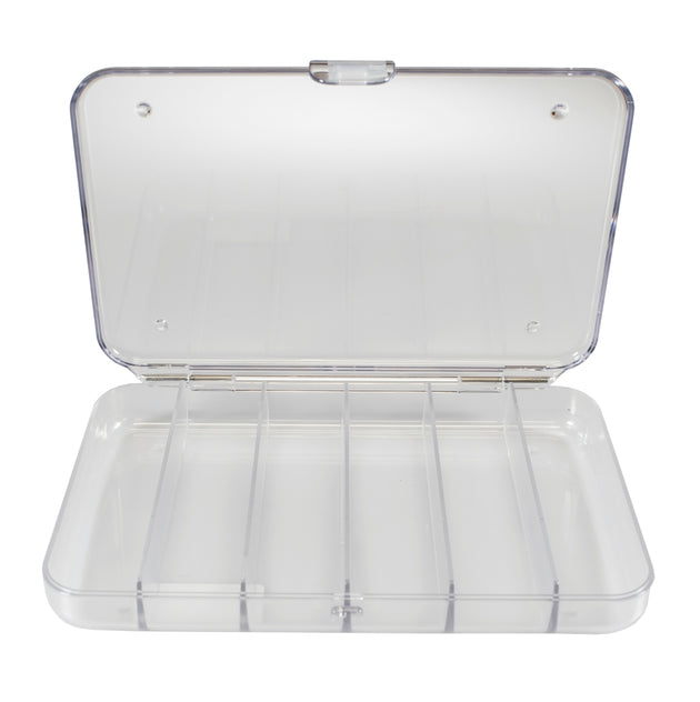 Set of 2 - Clear Polycarbonate Fly Box Combo