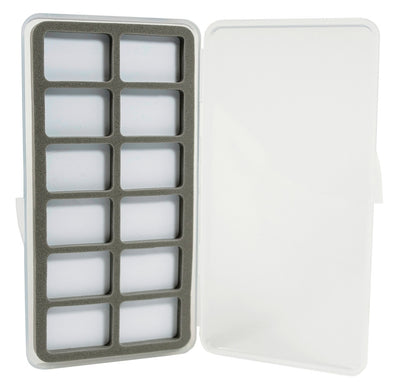 Ultra Slim 12 Compartment Magnetic Back Fly Box