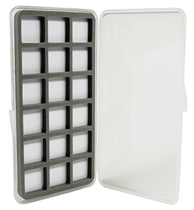Ultra Slim 18 Compartment Magnetic Back Fly Box