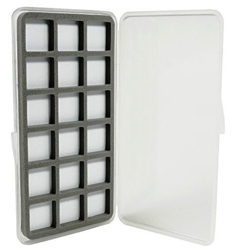 Kingfisher Ultra Slim 18 Compartment Magnetic Back Fly Box #1422