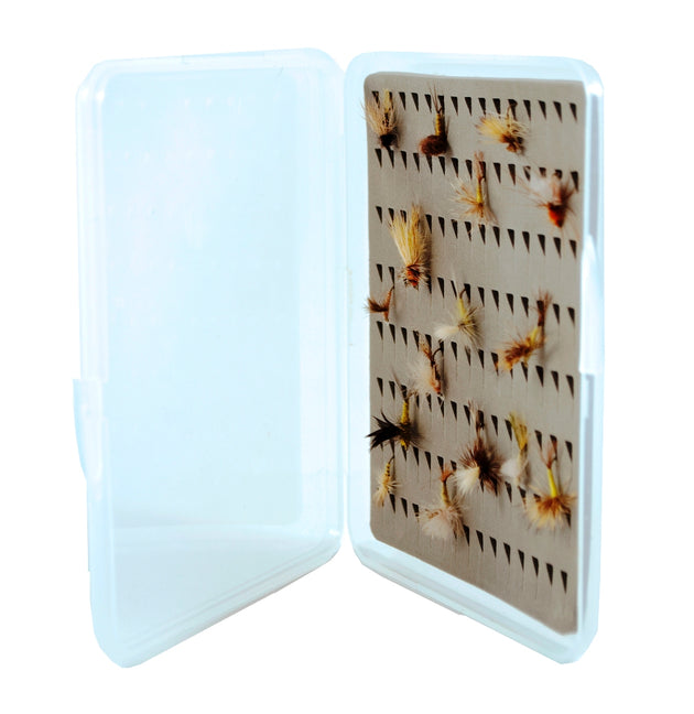 Small Ultra Slim Fly Box w/ Tear Drop Foam