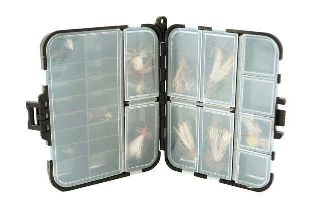 Set of 2 -Fly Box Organizer w/ 11 Compartments