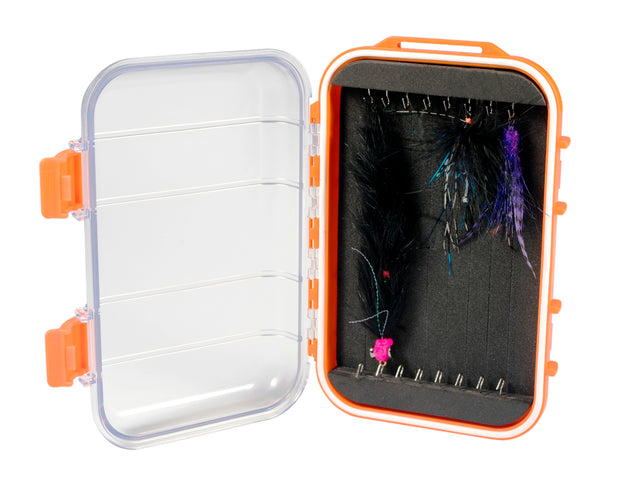 Kingfisher Water-Resistant Articulated Fly Box #1457