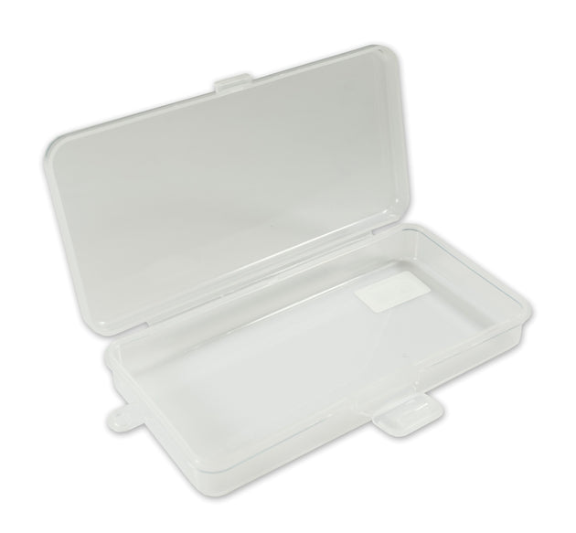 "7"" Basic Single Compartment Poly Box - 48 Bulk Count"