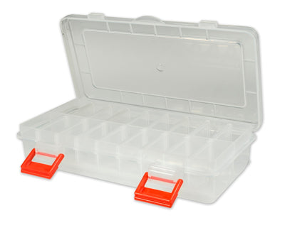 "7"" Poly Box w/Adjustable Compartments and Rounded Bottoms Poly Box - 480 Bulk Count"