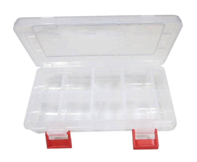 "7"" Poly Box w/Adjustable Compartments and Rounded Bottoms Poly Box 48 Bulk Count"