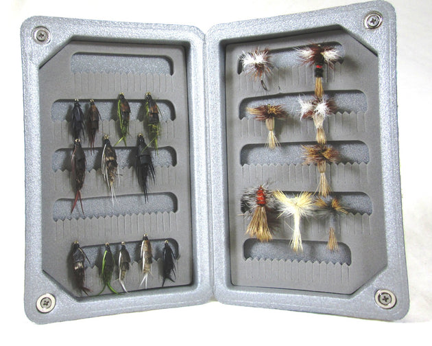Kingfisher Light Weight Floating Designer Fly Box - Small Vest Size #M 1532