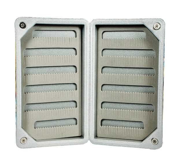 Light Weight Floating Designer Fly Box - Standard Pocket Size