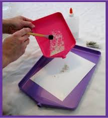 "Tidy Crafts Large Tidy Tray - 10"" X 14"" X 1"""