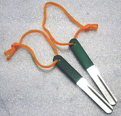 Set of 2 - Kingfisher Fish Hook - Diamond Grit - Sharpening Files #1912