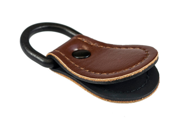 Leather Leader Straightener - For Fly Lines w/ Attached D-Loop