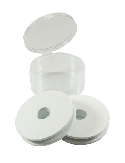 Set of 2 - Rigging Foam Spools in Poly Storage Fly Cup
