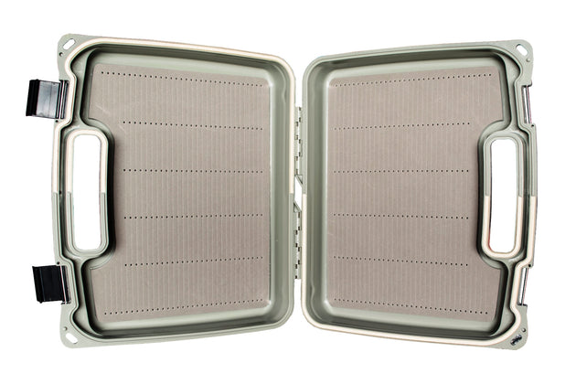 Kingfisher Huge Sized Saltwater Streamer Fly Box with Silicon Drying Patch On The Outside #1488