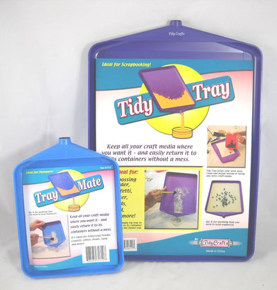 "Tidy Crafts - Tidy Tray Combo, 6"" x 8"" and 10"" x 14"", 2-Pack"